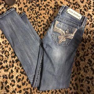 Denim - Rock revival straight Betty size 26 blue jeans